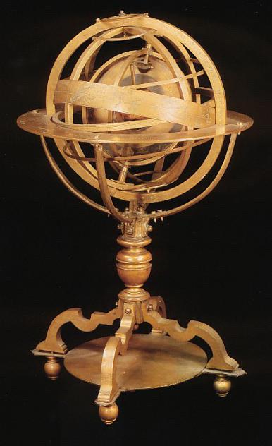 La  Sphere de Settala, conservée à la Biblioteca Ambrosiana.