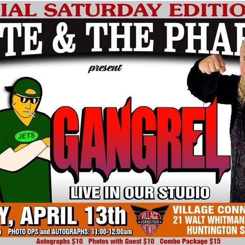 WWE Superstar Gangrel Joins Monte & The Pharaoh