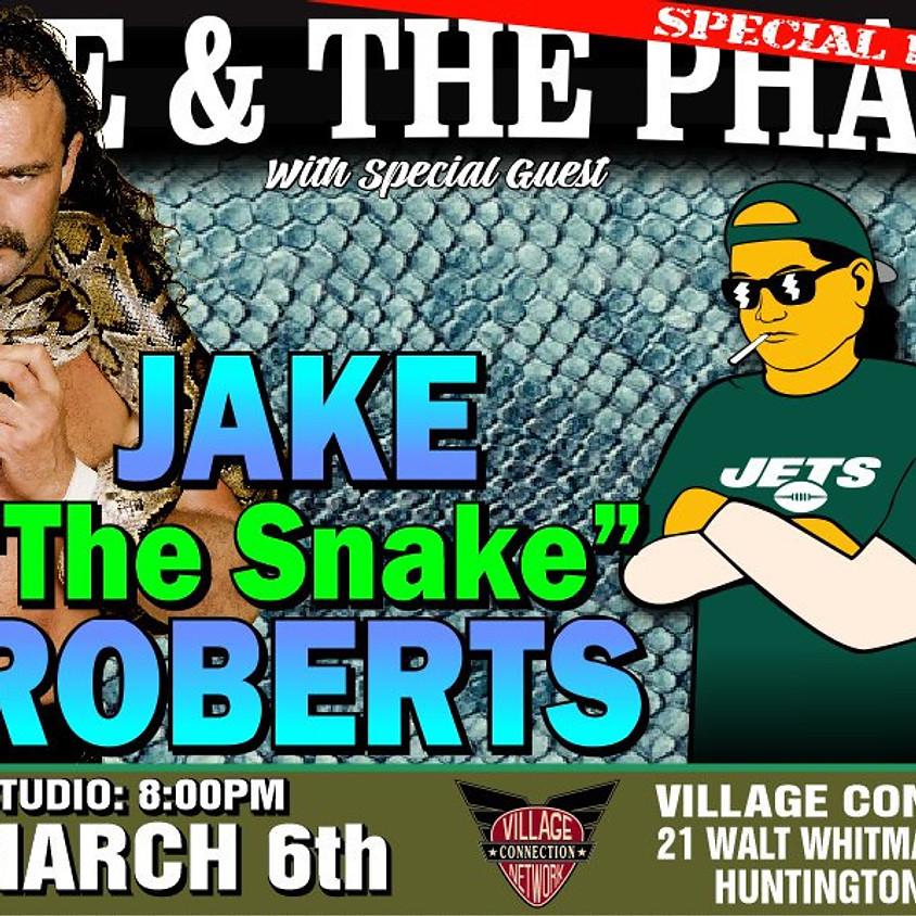 """WWE HOF Jake """"The Snake """" Roberts in Studio"""