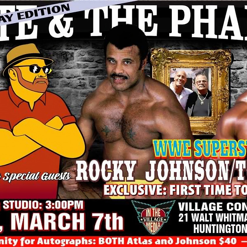Tony Atlas and Rocky Johnson Soul Patrol