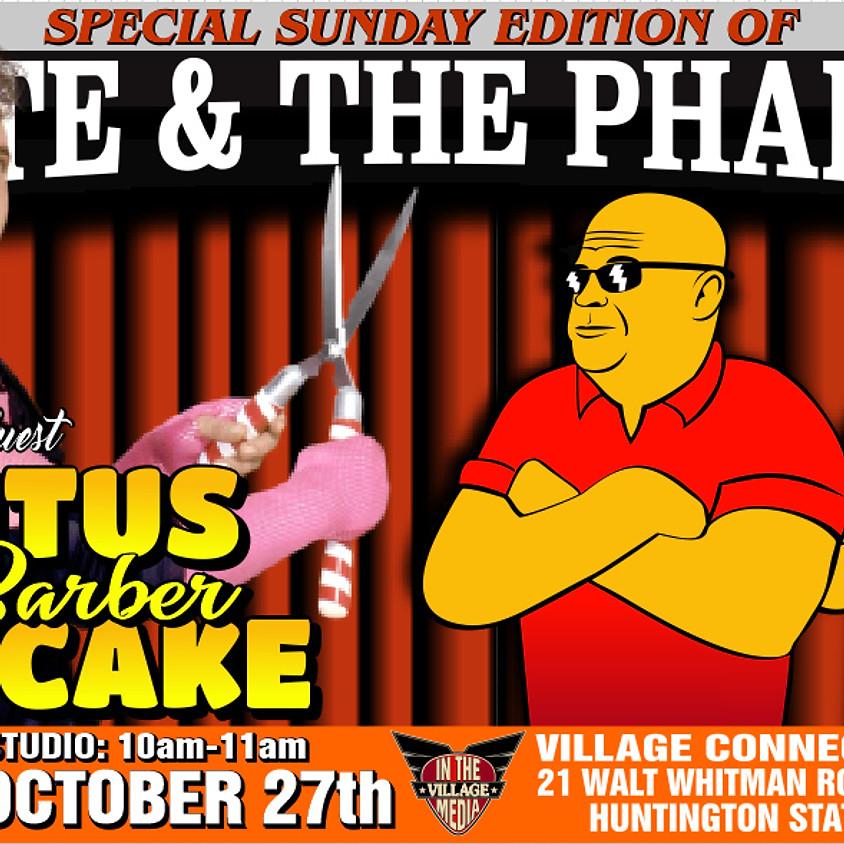 HOF Brutus The Barber Beefcake W/ Monte & The Pharaoh