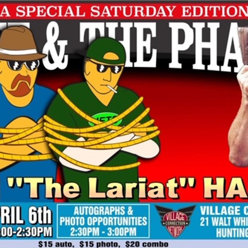WWE HOF Stan 'The Lariat' Hansen in Studio