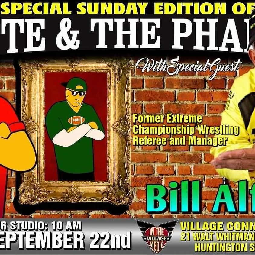 Bill Alfonso W/ Monte & The Pharaoh