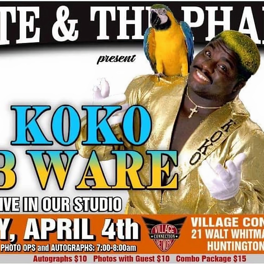 KOKO B Ware in studio