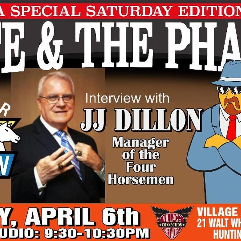 JJ Dillon Manager of The Four Horseman Joins Monte & The Pharaoh in Studio
