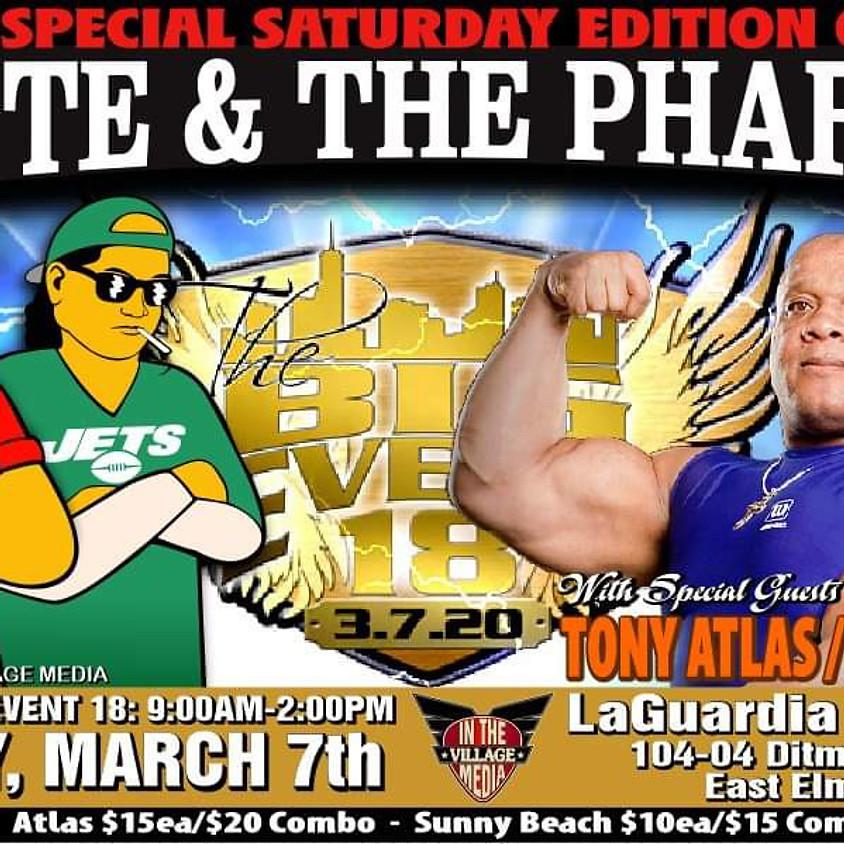 Big Event March 7th Tony Atlas & Sunny Beach
