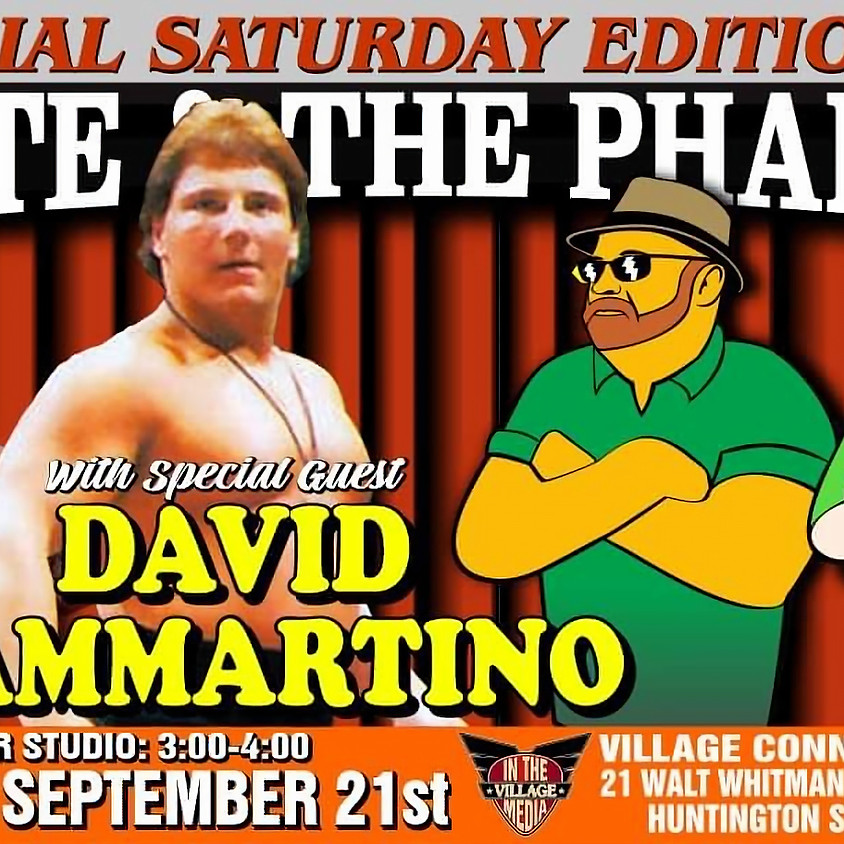 WWE Star David Sammartino W/Monte & The Pharaoh