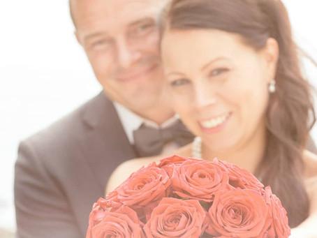 Bryllupsfoto ved Hvalsø og Holbæk