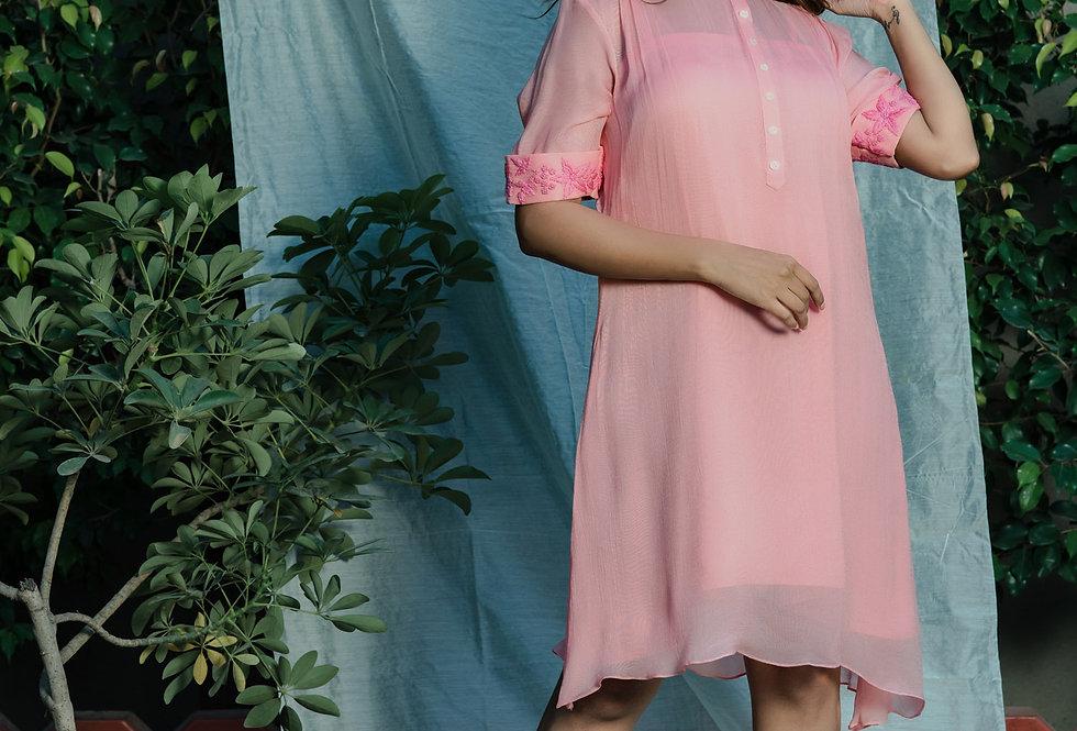 MUTED PINK DRESS