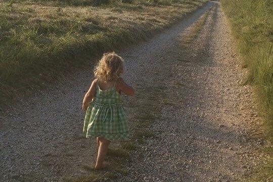 Girl on Ridgeway