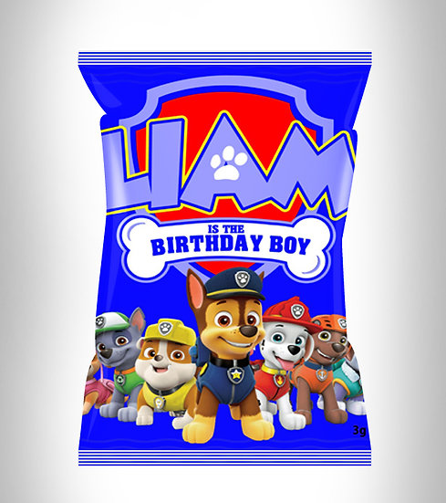 Paw Patrol Birthday Boy