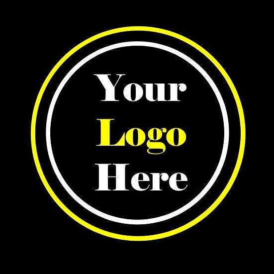 Solid Black Toasty Tush w/ 2 color custom logo