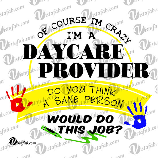 Daycare Providor - INSTANT DOWNLOAD