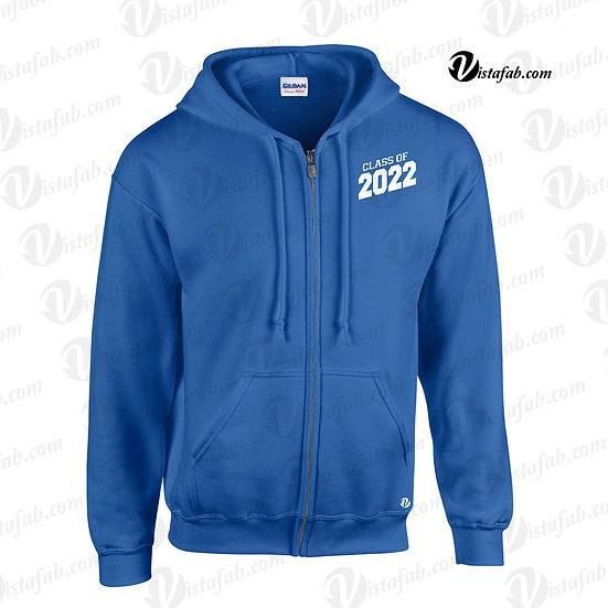 Unisex Full Zip Hoodie - CHHS Grad 2022