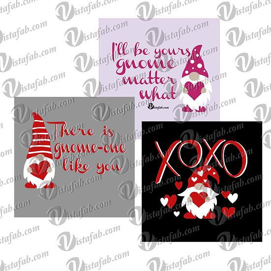 Valentine Gnome bundle - INSTANT DOWNLOAD