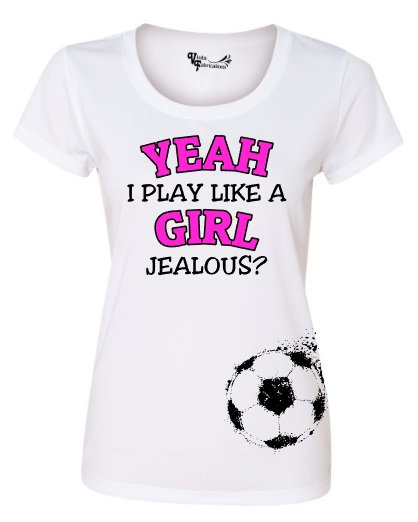 Play like a Girl - Soccer