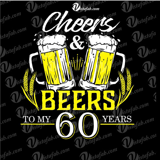 Cheers & Beers - INSTANT DOWNLOAD