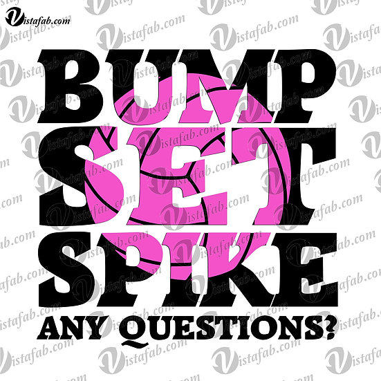 Bump Set Spike - INSTANT DOWNLOAD
