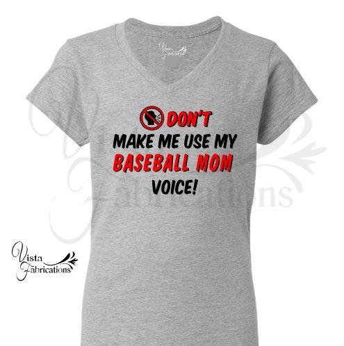 Baseball Mom Voice