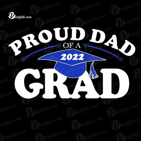 Unisex Tshirt - Proud Mom/Dad of a 2022 Grad