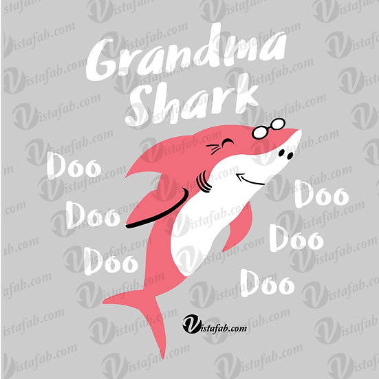Grandma Nana Shark - INSTANT DOWNLOAD