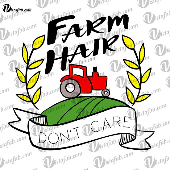 Farm Hair - INSTANT DOWNLOAD