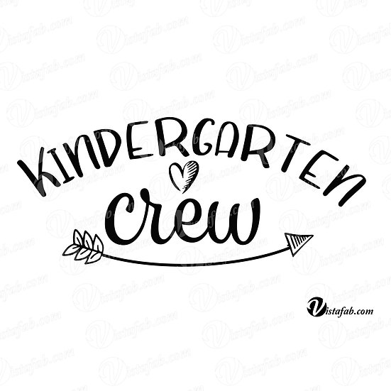 Kindergarten Crew - INSTANT DOWNLOAD