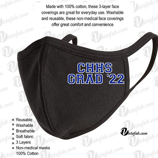 CHHS Grad '22 - Face Mask
