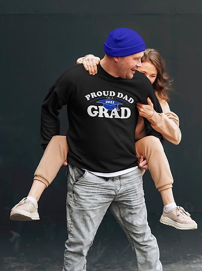 Champion Unisex Sweatshirt -Proud Mom/Dad of Grad