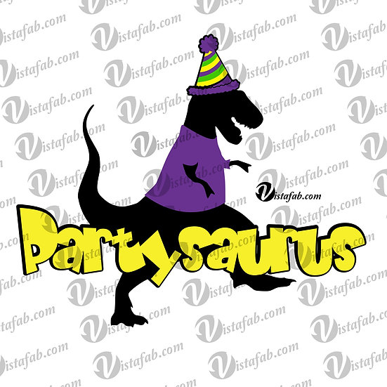 Partysaurus - INSTANT DOWNLOAD