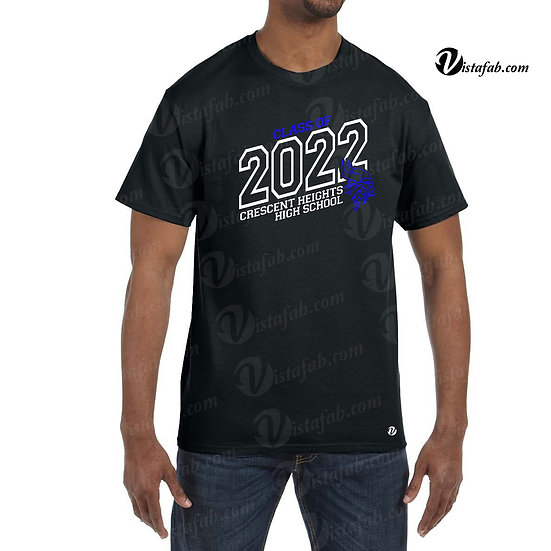 Adult Unisex T-shirt - CHHS Grad 2022