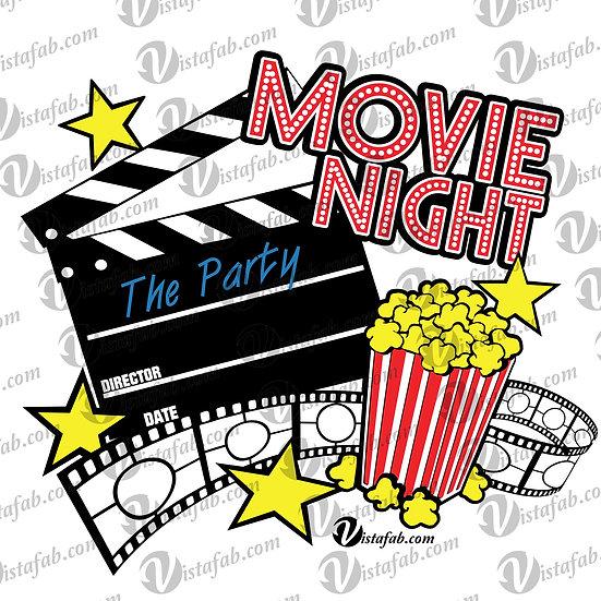 Movie Night - INSTANT DOWNLOAD