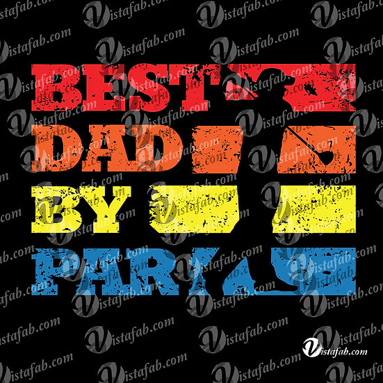 Best Dad by Par - INSTANT DOWNLOAD
