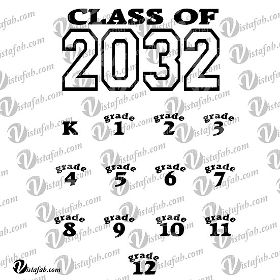Class of 20__ - INSTANT DOWNLOAD