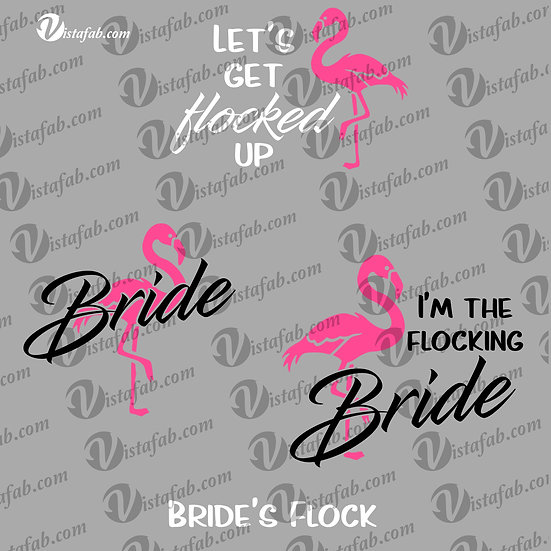 Flocking Wedding - INSTANT DOWNLOAD