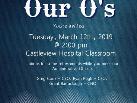 Meet Castleview Hospital's O's