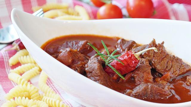 No added salt beef in red wine recipe