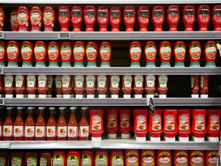 Warning: Packaged foods high in salt content