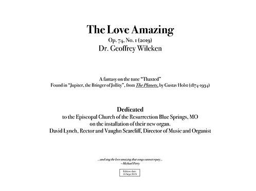 The Love Amazing