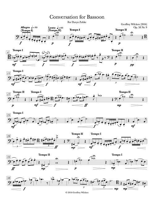Conversation for Bassoon