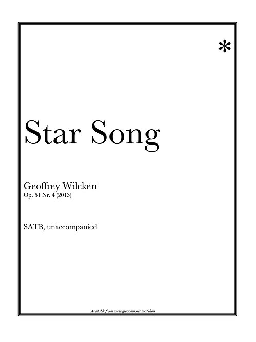 Star Song - Single Copy License