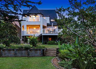 Gorgeous Sydney beach home with British surprise in the basement