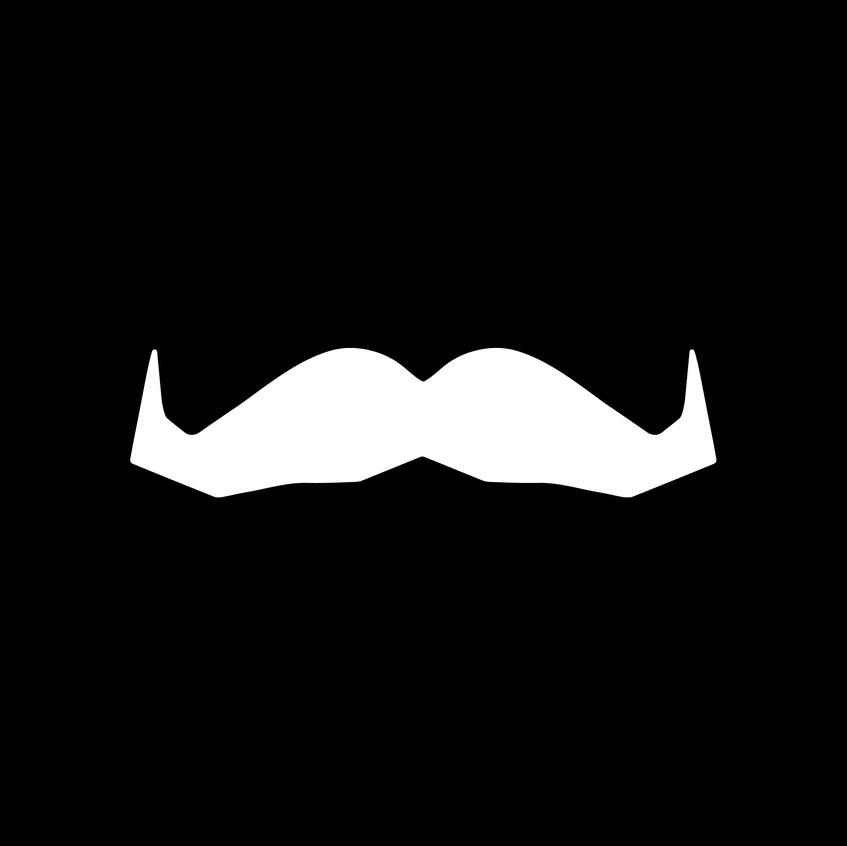 Movember Foundation_Iconic Mo_White