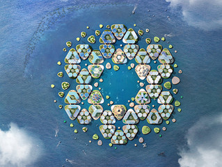 Design presented to UN's Roundtable on Sustainable Floating Cities