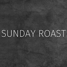 Sunday Roast Menu