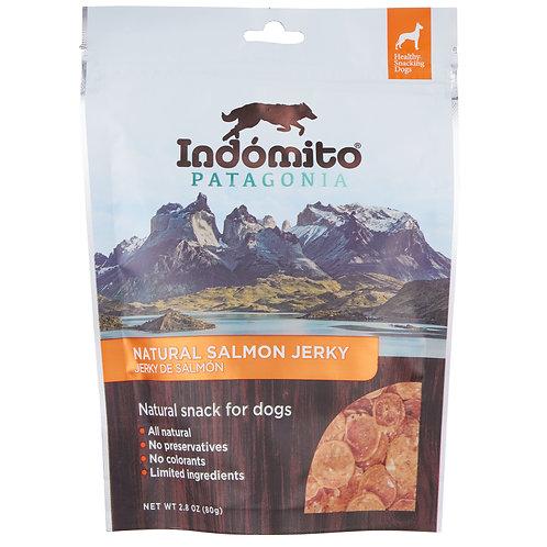 Salmon - Organic Jerky Dog Treats - 12 units box