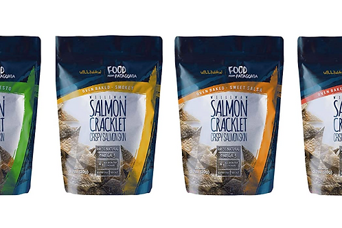 Williwaw Salmon Skin Cracklet - All 4 flavors mix