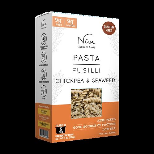 Nün Seaweed & Chickpea Fusilli Pasta - Gluten Free - Vegan - 8 units pack