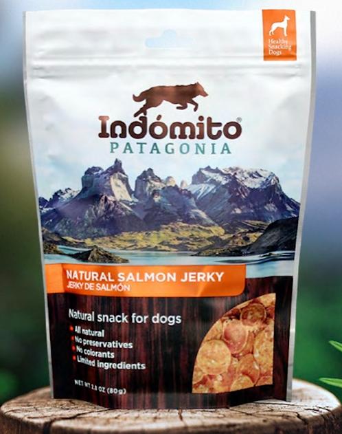 Salmon - Organic Jerky Dog Treat (8 units box / $3.12 per unit)