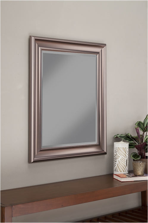 Polished Frame Accent Mirror